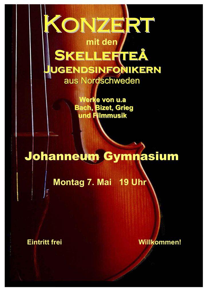 Plakat Johanneum Gymnasium