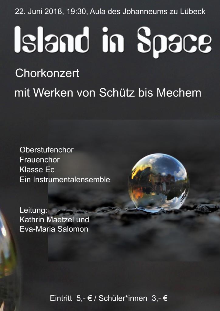 Island_in_space Chorkonzert 2018