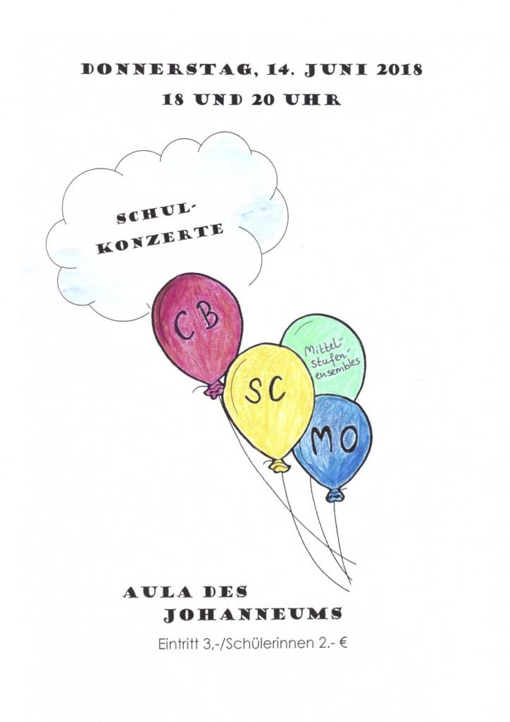 Plakat Schulkonzerte 14.6.18