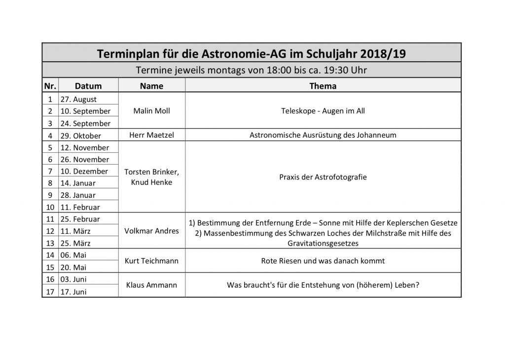 Terminplan für die Astronomie-AG_01