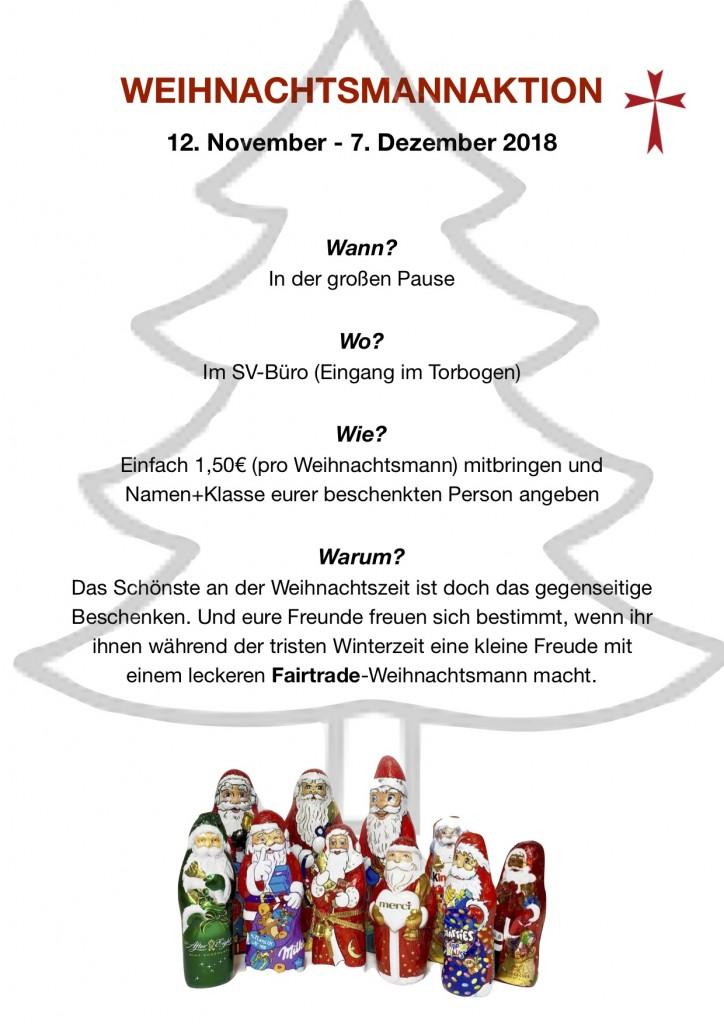 Weihnachtsmannaktion '18